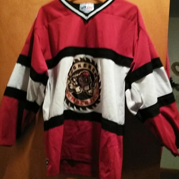 Alethic Knit Other - Muskegon Lumberjacks hockey jersey 05b85e50ae9